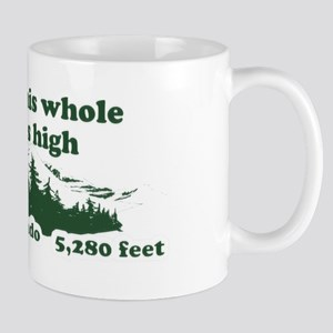 I think this whole place is high Mug