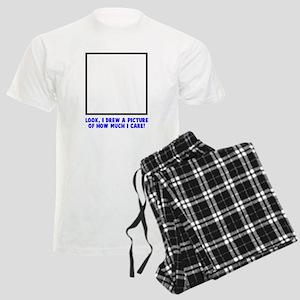 Look I drew a picture Men's Light Pajamas