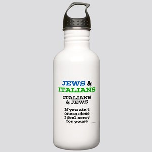 Jews and Italians Stainless Water Bottle 1.0L