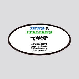 Jews and Italians Patches