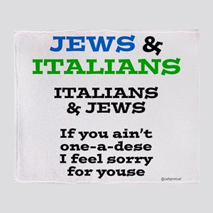 Jews and Italians Throw Blanket