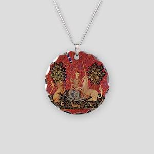 Lady and Unicorn Sight Necklace