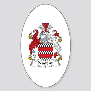 Nugent Oval Sticker