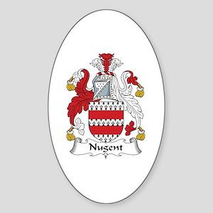 Nugent Oval Sticker