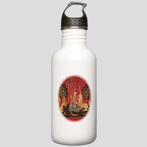 Lady and Unicorn Sight Water Bottle