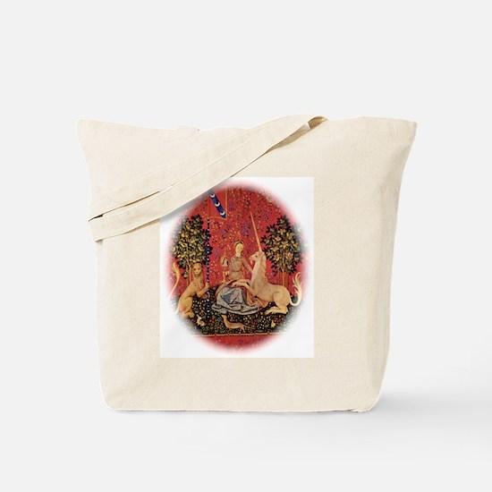 Lady and Unicorn Sight Tote Bag