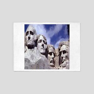 Mount Rushmore 5'x7'Area Rug