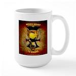 Blood Red Sabbath By Darkartsguild Large Mug