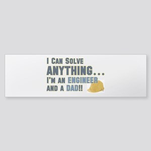 Engineer Dad Bumper Sticker