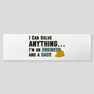 Engineer Dad Bumper Sticker
