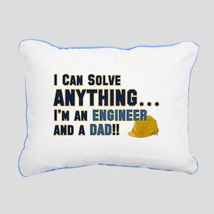 Engineer Dad Rectangular Canvas Pillow