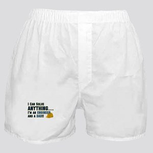 Engineer Dad Boxer Shorts