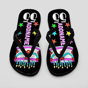 Delightful 55Th Flip Flops