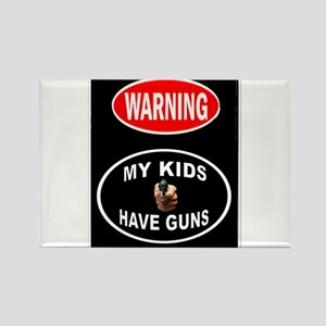 KIDS PROTECTED Magnets