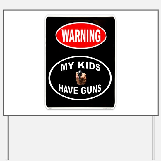 KIDS PROTECTED Yard Sign