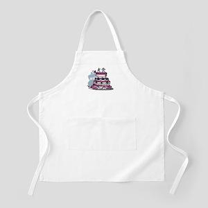 The Wedding Cake BBQ Apron