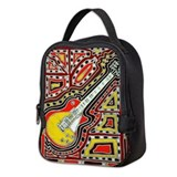 Electric guitar Neoprene Lunch Bag