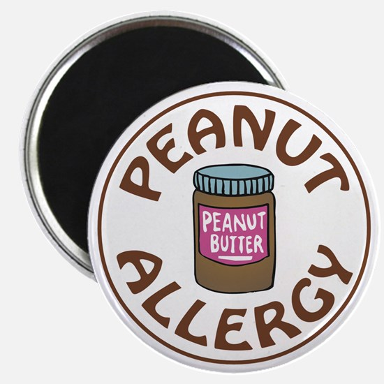 PEANUT BUTTER ALLERGY Magnets