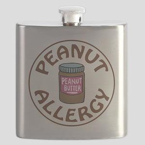 PEANUT BUTTER ALLERGY Flask