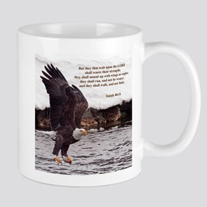 ISAIAH 40:31 WINGED EAGLES Mugs
