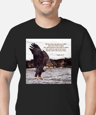 ISAIAH 40:31 WINGED EAGLES T-Shirt