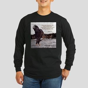 ISAIAH 40:31 WINGED EAGLES Long Sleeve T-Shirt