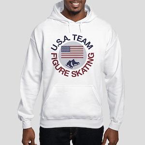 U.S.A. Team Figure Skating Hooded Sweatshirt