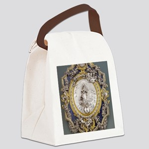 Virgin of the Immaculate Concepti Canvas Lunch Bag
