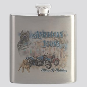 American Icons Bikes Bullies Flask