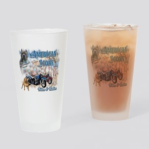 American Icons Bikes Bullies Drinking Glass