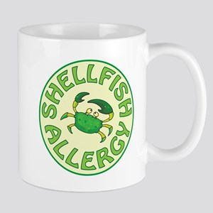 SHELLFISH ALLERGY Mugs