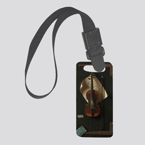 The Old Violin Small Luggage Tag