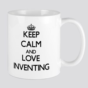 Keep calm and love Inventing Mugs