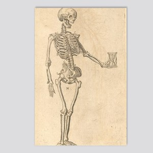 Human Skeleton Postcards (Package of 8)