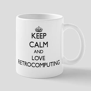 Keep calm and love Retrocomputing Mugs
