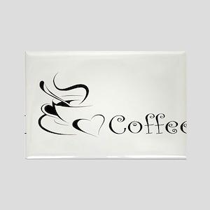 i love coffee mug Magnets