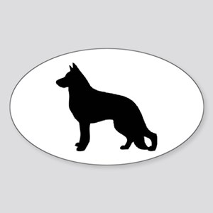 german shepherd 2 Sticker