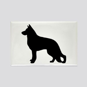 german shepherd 2 Magnets