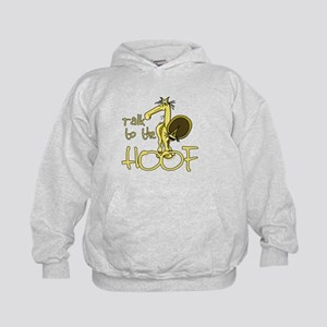 Talk to the Hoof Kids Hoodie