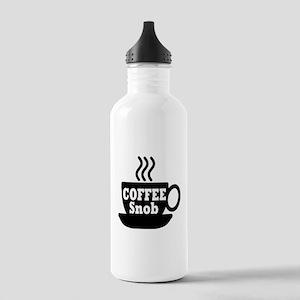 coffee snob Water Bottle