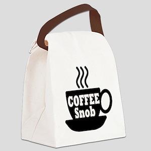 coffee snob Canvas Lunch Bag