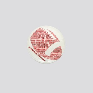 Football Words Mini Button