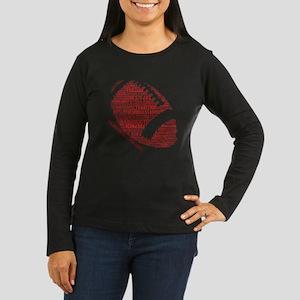 Huskerland Football Long Sleeve T-Shirt