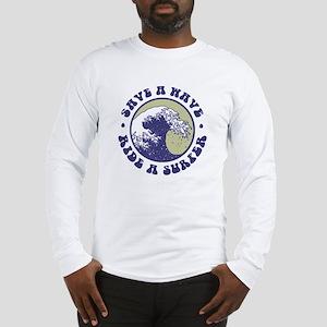 Funny Surfer Long Sleeve T-Shirt