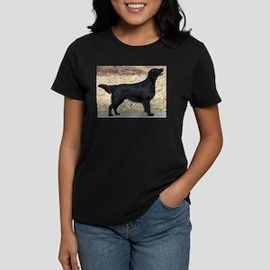 flat coated retriever black full T-Shirt