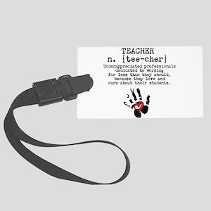 Teacher. Luggage Tag