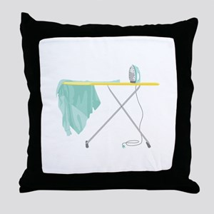 Ironing Board Throw Pillow