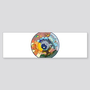 Healing Circle - white Bumper Sticker