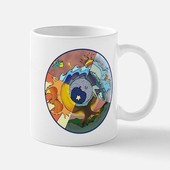 Healing Circle - white Mugs