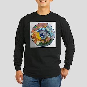 Healing Circle - white Long Sleeve T-Shirt